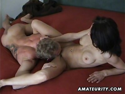 Busty mature wife homemade hardcore action