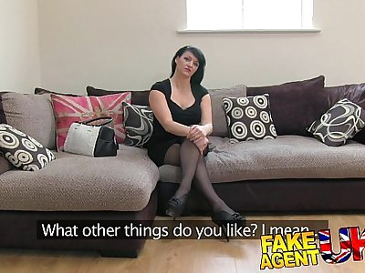 FakeAgentUK Dirty British amateur loves agents big cock in her arse