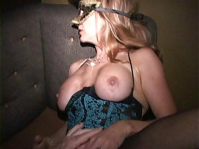 Big clit MILF in mask cums like crazy in Trapeze swinger club orgy