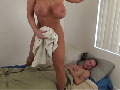 Hot Mom help Son - Alura Jenson