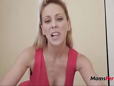 MILF wants son's cum to get pregnant! FORCED